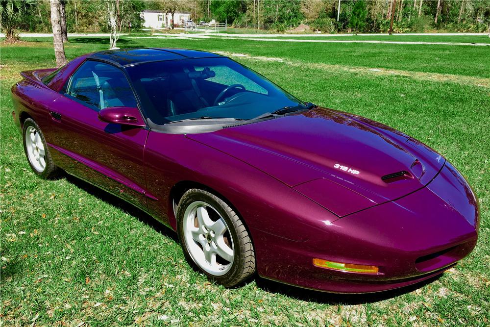 1995 PONTIAC FIREHAWK - Front 3/4 - 219058
