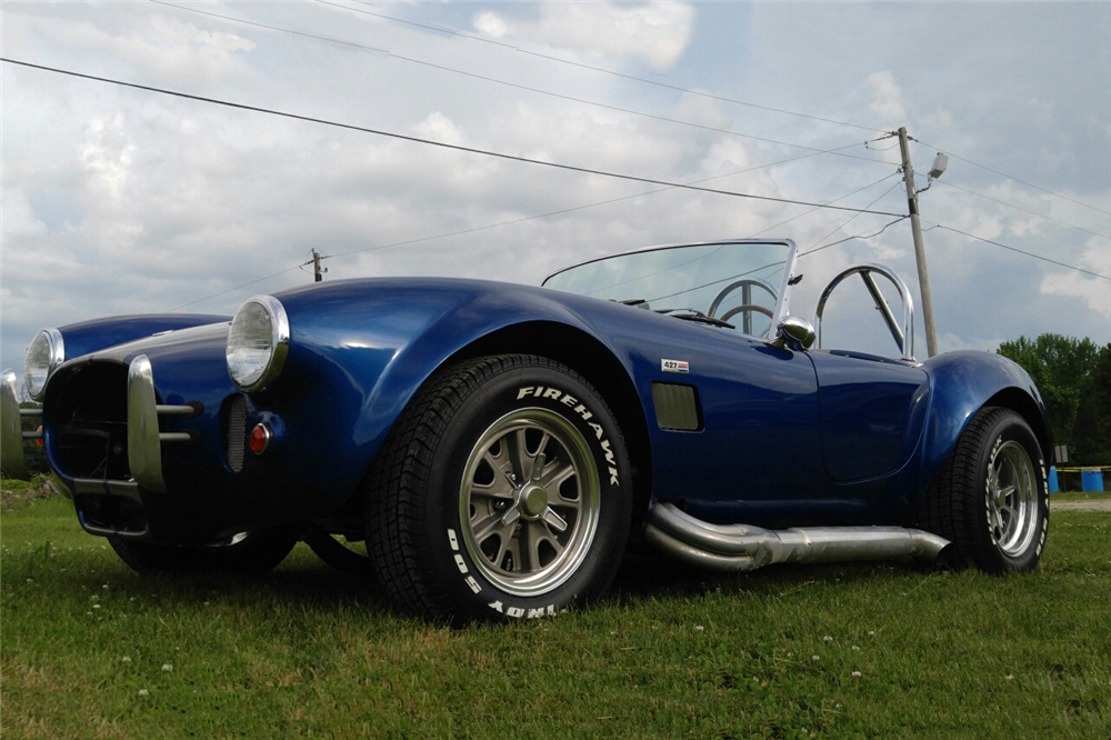 1965 SHELBY COBRA RE-CREATION ROADSTER - Front 3/4 - 219077