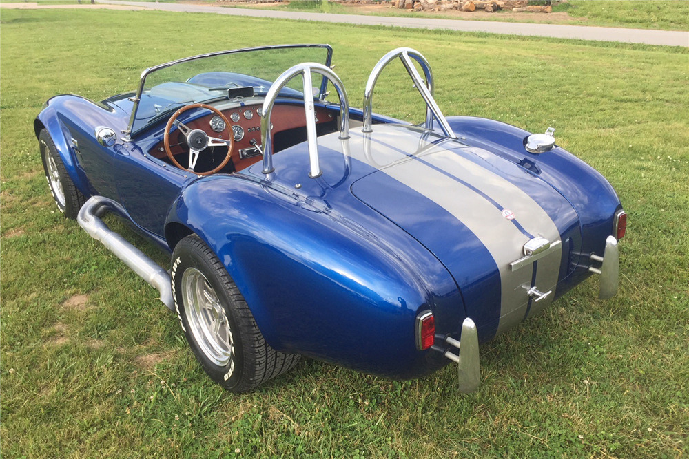 1965 SHELBY COBRA RE-CREATION ROADSTER - Rear 3/4 - 219077