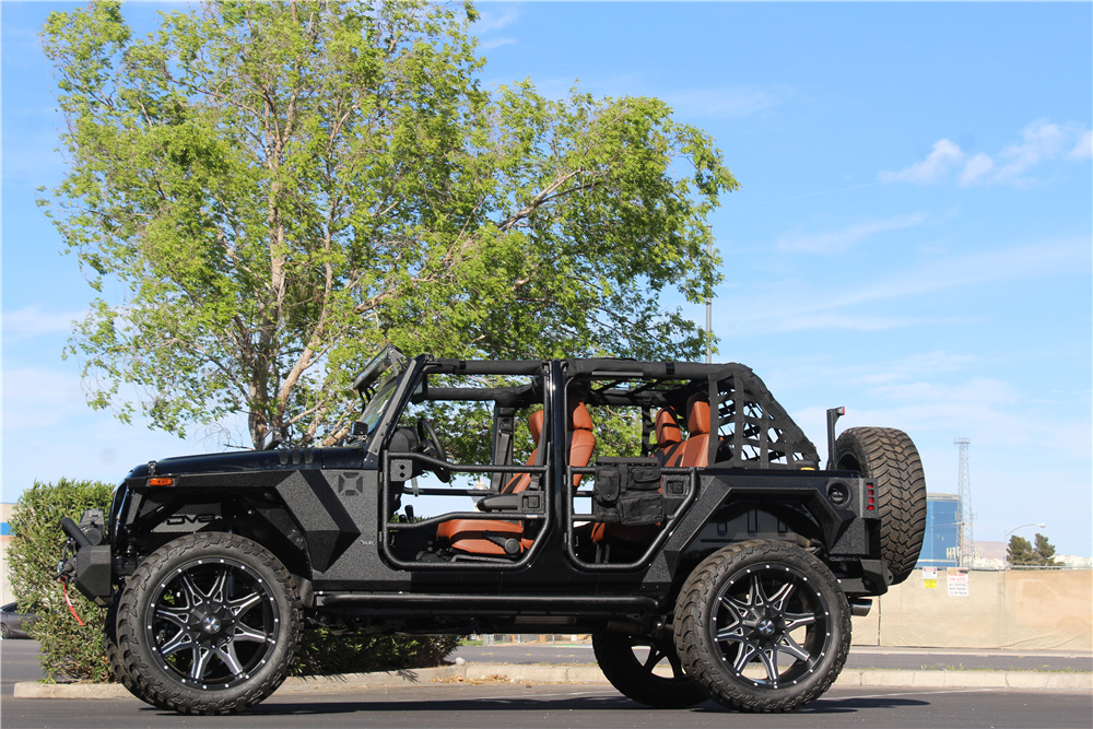 2018 JEEP WRANGLER UNLIMITED CUSTOM - Side Profile - 219122