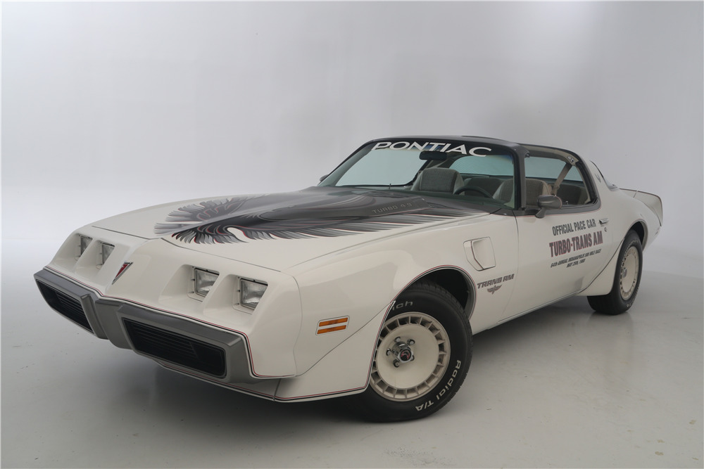 1980 PONTIAC TRANS AM INDY PACE CAR - Front 3/4 - 219136
