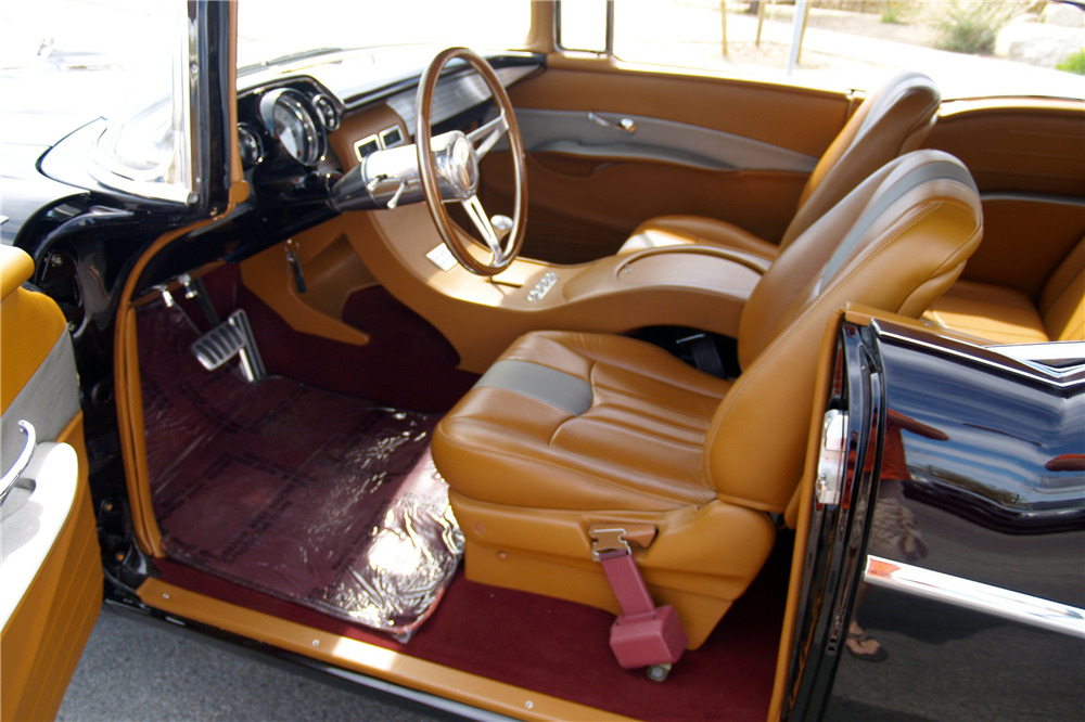 1957 CHEVROLET BEL AIR CUSTOM HARDTOP - Interior - 219630