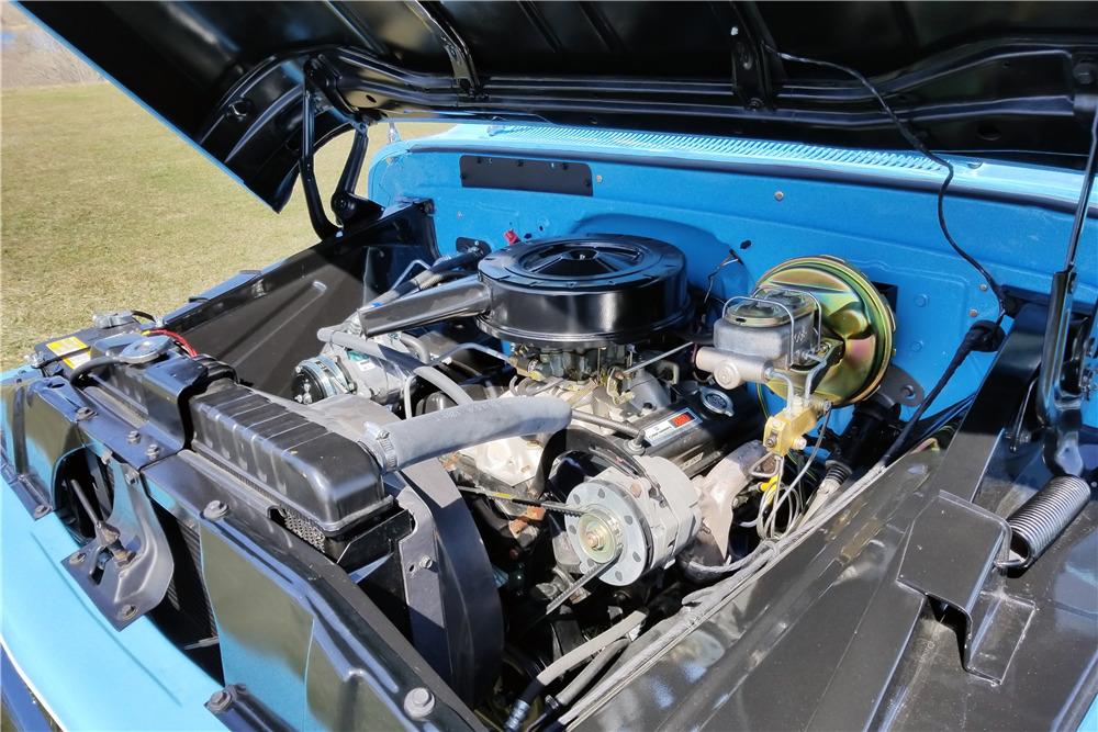 1965 CHEVROLET C10 PICKUP - Engine - 219664