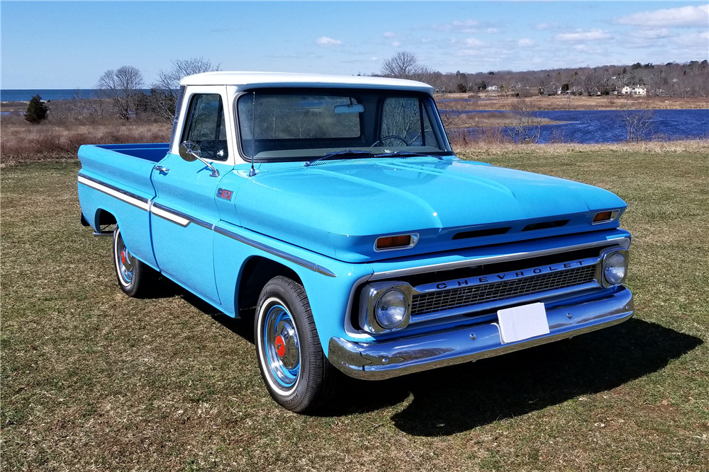 1965 CHEVROLET C10 PICKUP - Front 3/4 - 219664