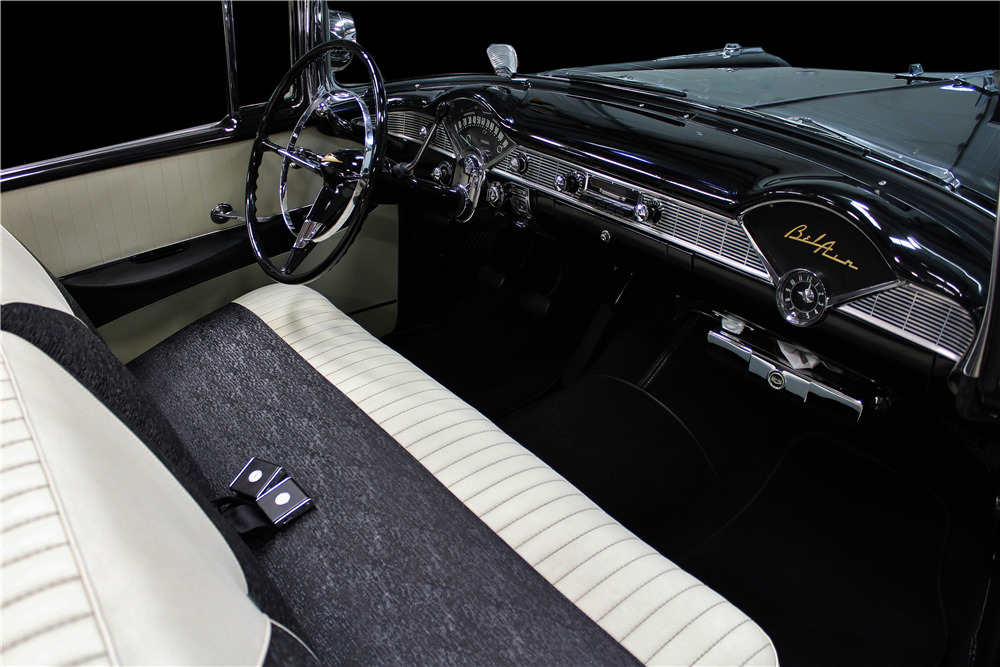 1956 CHEVROLET BEL AIR CONVERTIBLE - Interior - 219714