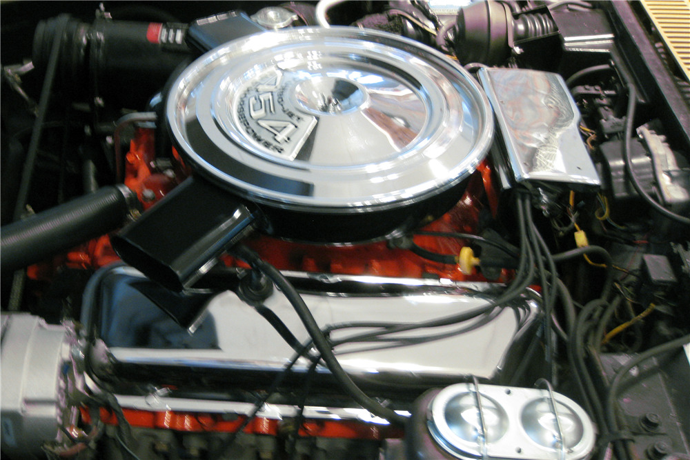 1971 CHEVROLET CORVETTE CONVERTIBLE - Engine - 219732