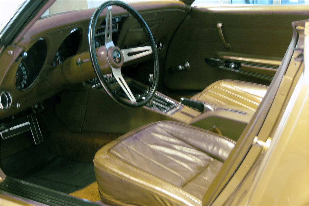 1971 CHEVROLET CORVETTE CONVERTIBLE - Interior - 219732