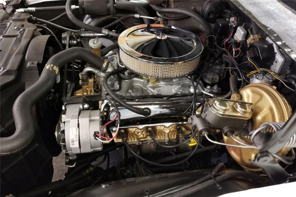 1972 OLDSMOBILE CUTLASS SUPREME CONVERTIBLE - Engine - 219837