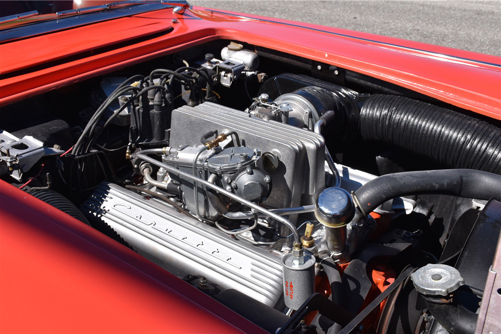 1958 CHEVROLET CORVETTE 283/250 FUELIE CONVERTIBLE - Engine - 219840