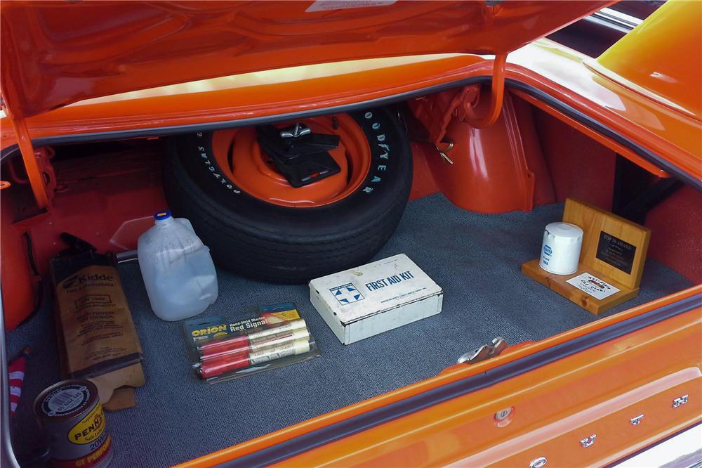 1970 PLYMOUTH ROAD RUNNER SUPERBIRD - Misc 1 - 219860