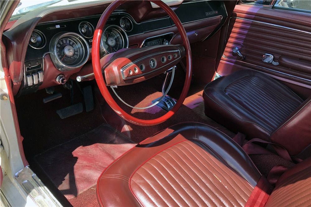 1968 FORD MUSTANG HIGH COUNTRY SPECIAL - Interior - 219861