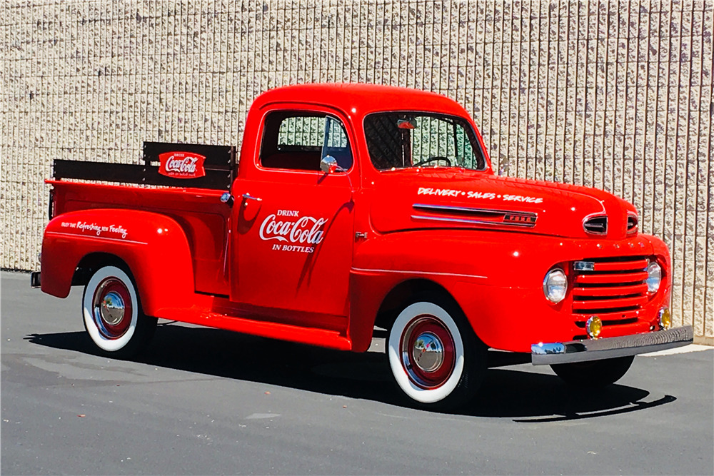 1948 FORD F-1 CUSTOM PICKUP - Front 3/4 - 219880