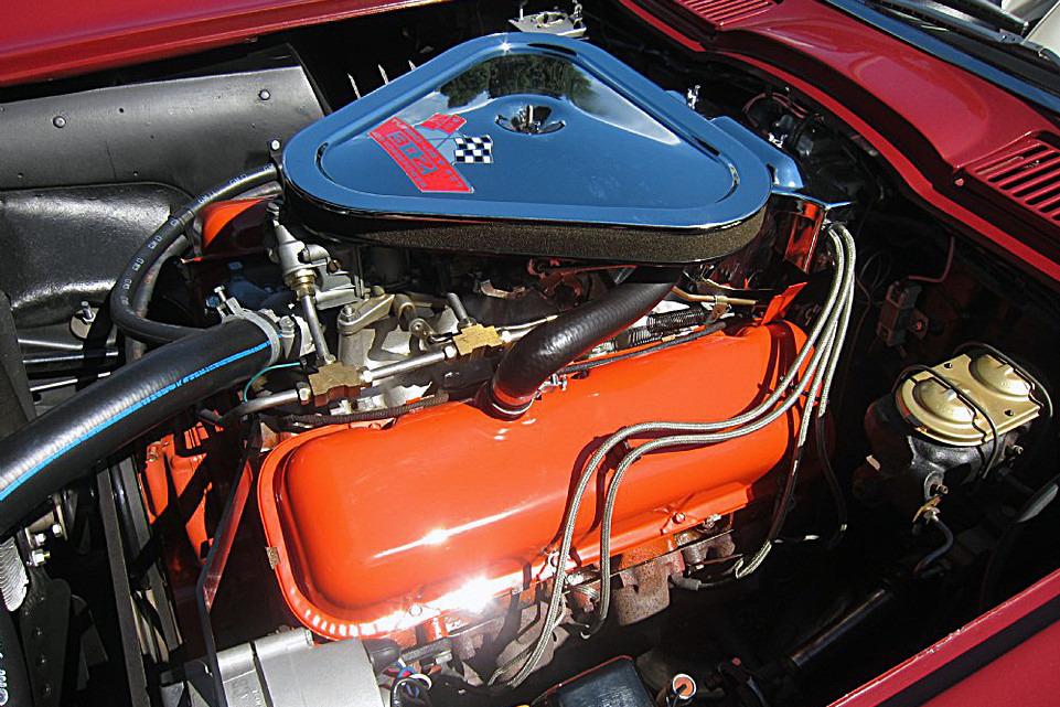 1967 CHEVROLET CORVETTE 427/400 CONVERTIBLE - Engine - 219891