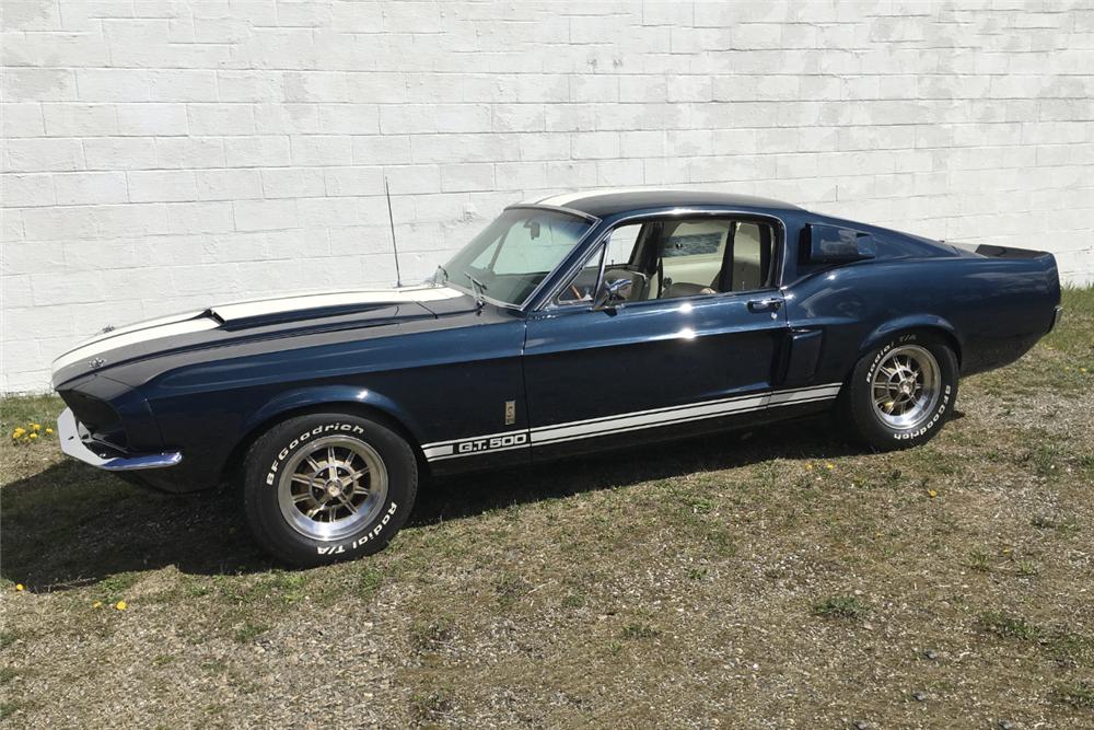 1967 SHELBY GT500 - Side Profile - 219892