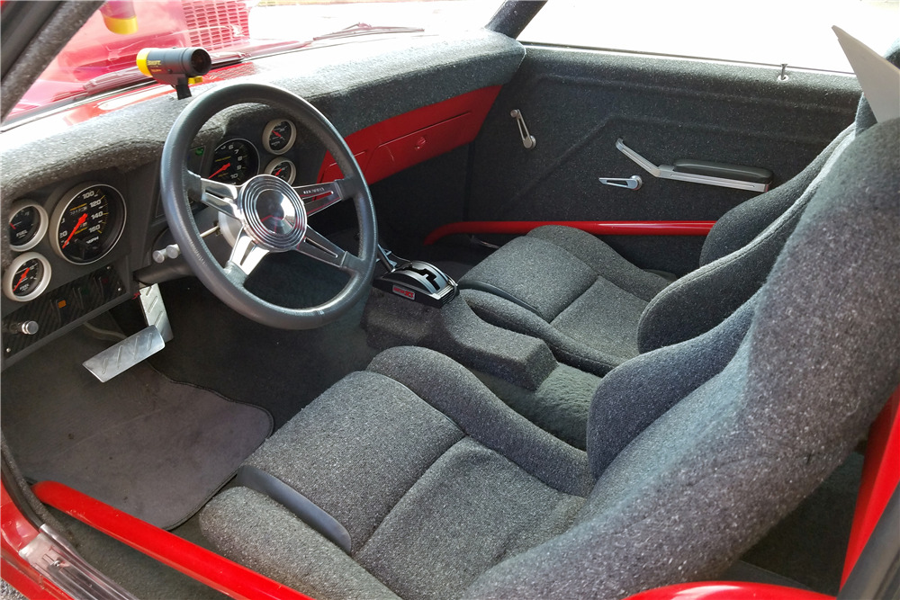 1969 CHEVROLET CAMARO CUSTOM COUPE - Interior - 219927