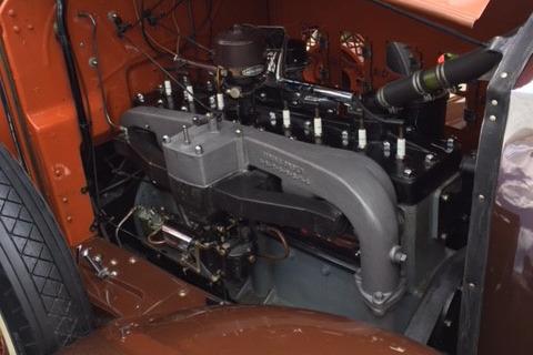 1929 PIERCE-ARROW MODEL 143 CONVERTIBLE - Engine - 219940
