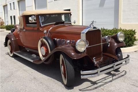 1929 PIERCE-ARROW MODEL 143 CONVERTIBLE - Front 3/4 - 219940