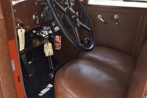 1929 PIERCE-ARROW MODEL 143 CONVERTIBLE - Interior - 219940