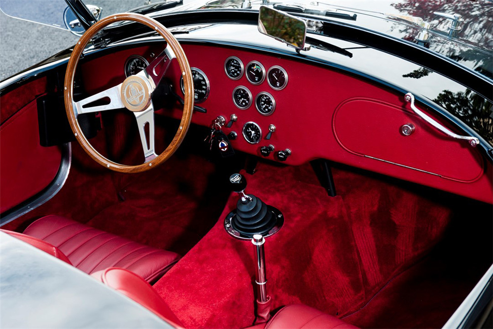 1962 SHELBY COBRA 50TH ANNIVERSARY ROADSTER CSX8969 - Interior - 220008