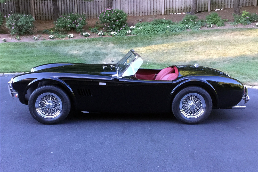 1962 SHELBY COBRA 50TH ANNIVERSARY ROADSTER CSX8969 - Side Profile - 220008