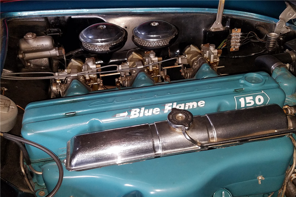 1954 CHEVROLET CORVETTE CONVERTIBLE - Engine - 220020