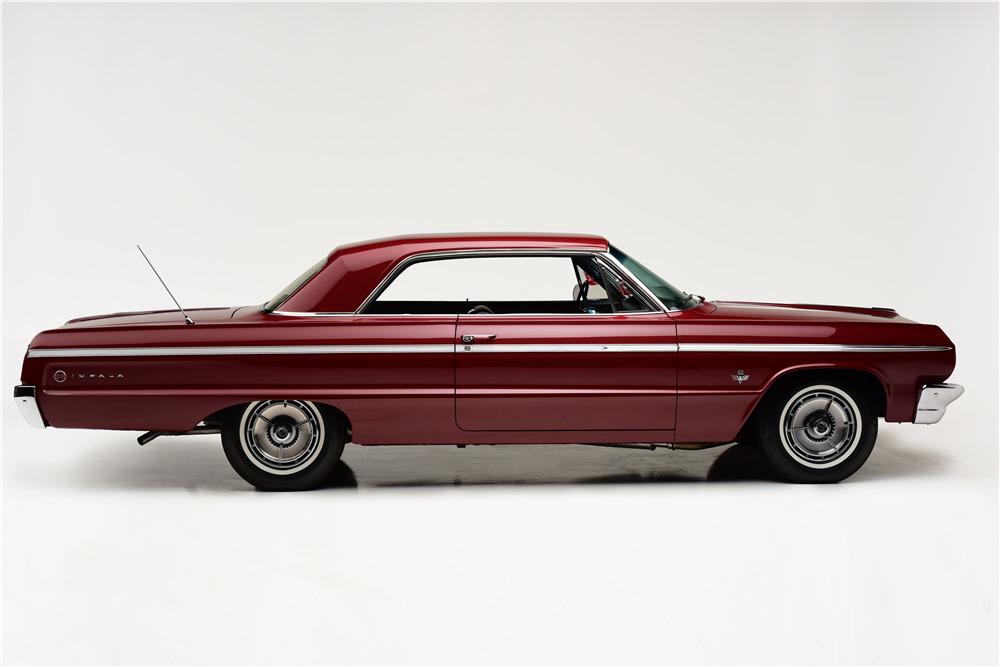 1964 CHEVROLET IMPALA SS 409 - Side Profile - 220028