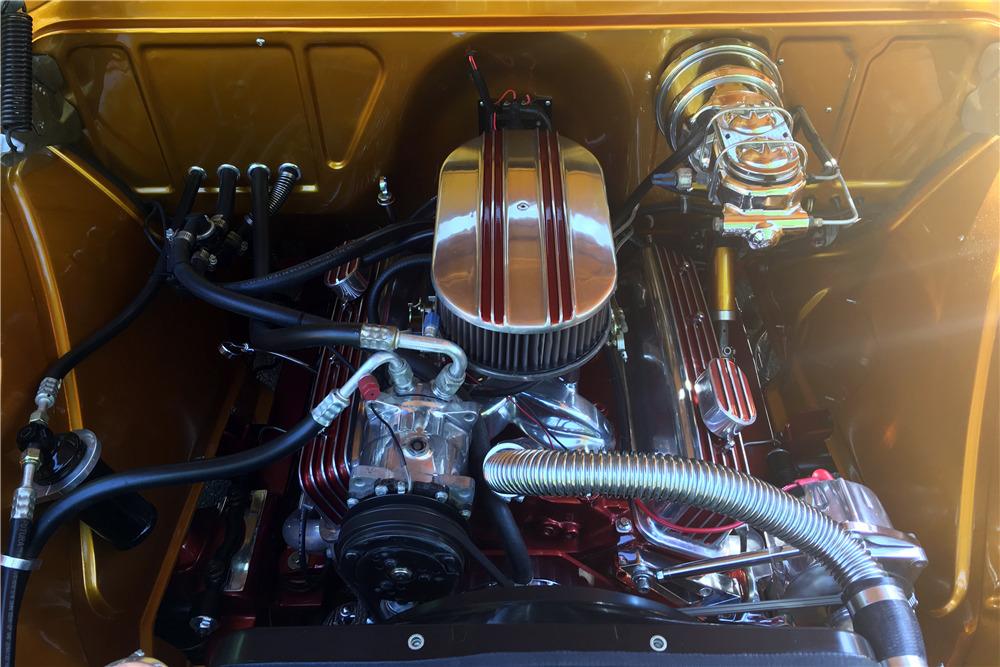 1955 CHEVROLET 3100 CUSTOM PICKUP - Engine - 220039