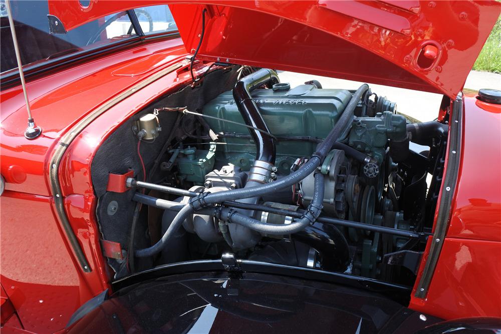 1948 DODGE POWER WAGON CUSTOM 4X4 TRUCK - Engine - 220047