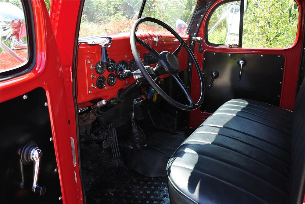 1948 DODGE POWER WAGON CUSTOM 4X4 TRUCK - Interior - 220047