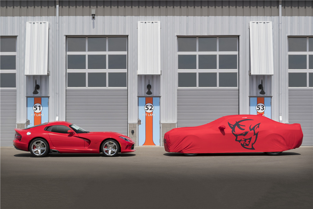 2018 DODGE CHALLENGER SRT DEMON - Side Profile - 220057