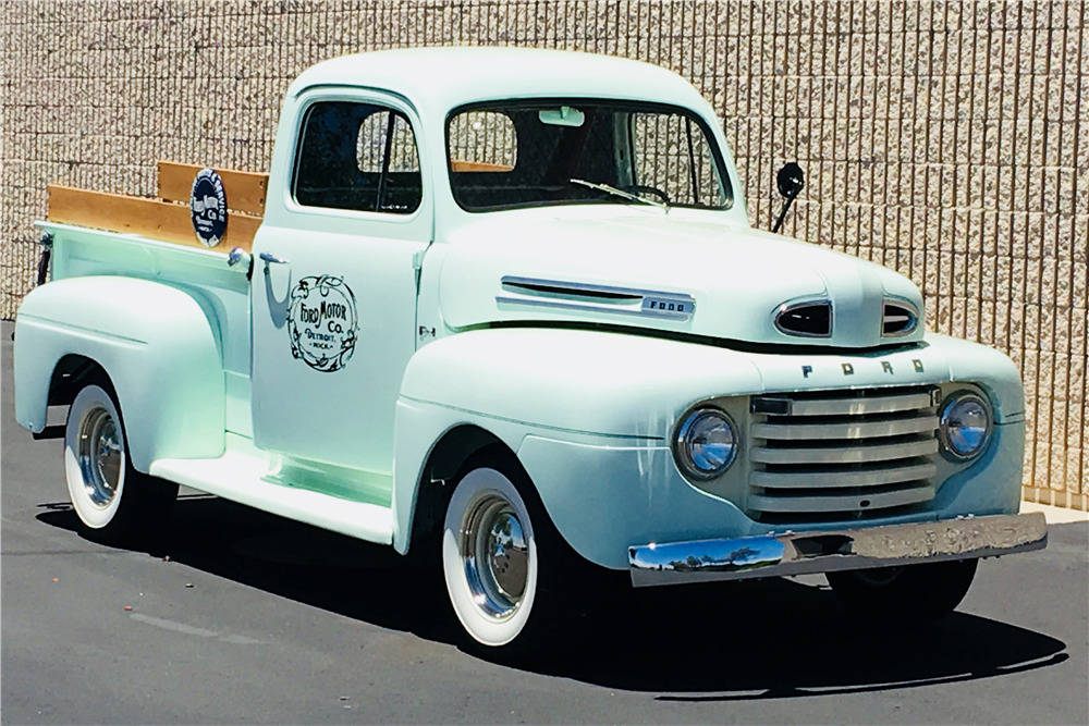 1949 FORD F-1 PICKUP - Front 3/4 - 220066