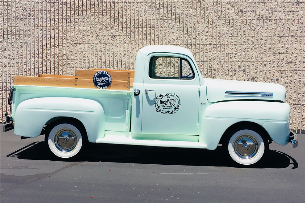 1949 FORD F-1 PICKUP - Side Profile - 220066