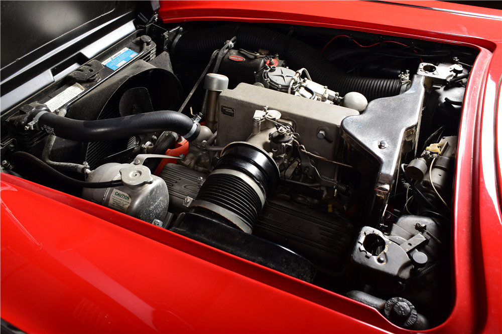 1961 CHEVROLET CORVETTE FUELIE CONVERTIBLE - Engine - 220135