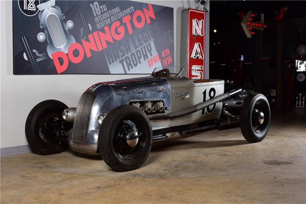 1927 NASH LEGION CUSTOM ROADSTER - Front 3/4 - 220146