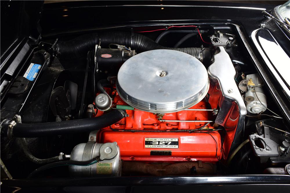 1962 CHEVROLET CORVETTE CONVERTIBLE - Engine - 220155