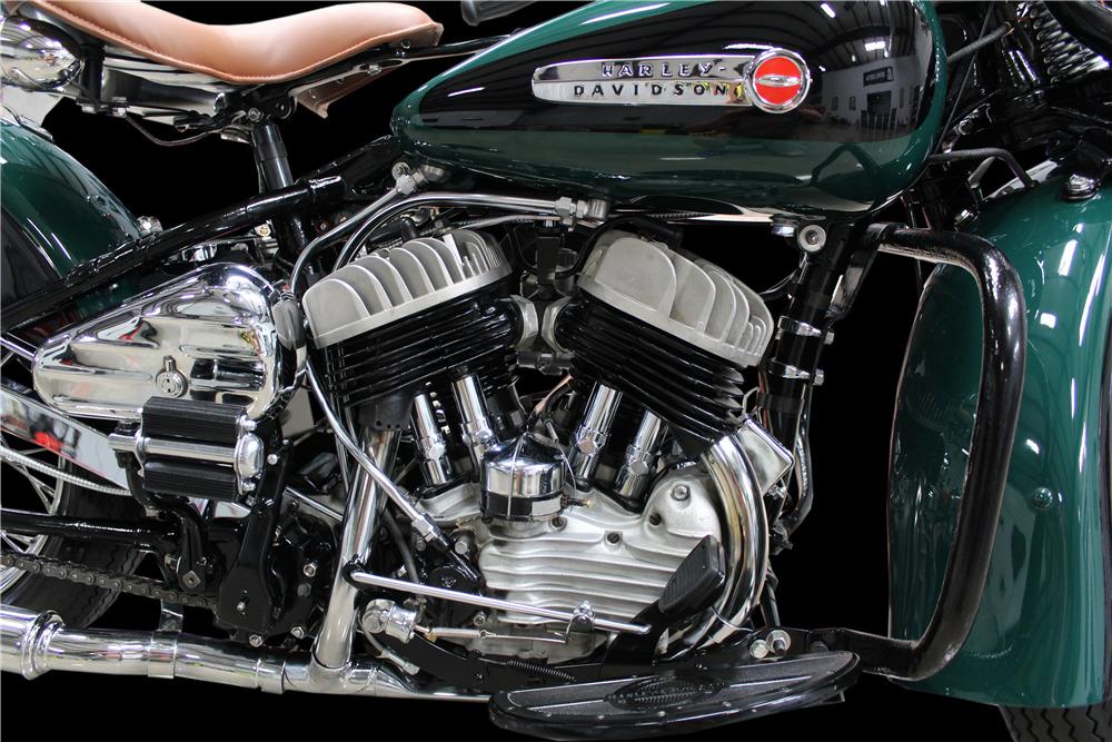 1942 HARLEY-DAVIDSON 42WLA MOTORCYCLE - Engine - 220165