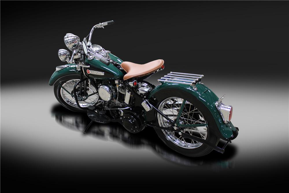 1942 HARLEY-DAVIDSON 42WLA MOTORCYCLE - Rear 3/4 - 220165