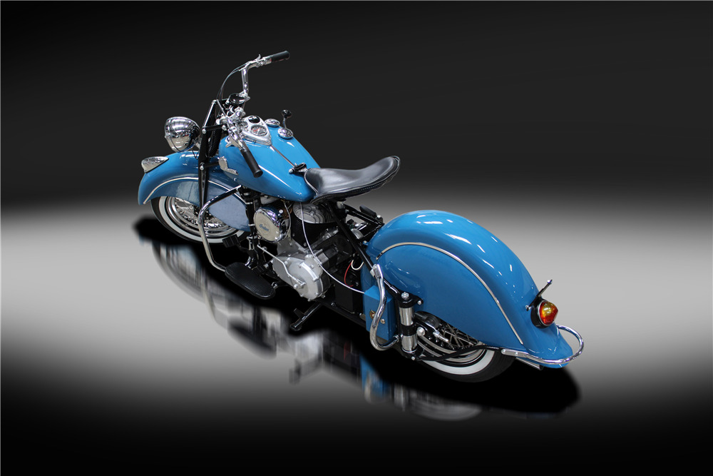 1946 INDIAN CHIEF MOTORCYCLE - Rear 3/4 - 220182