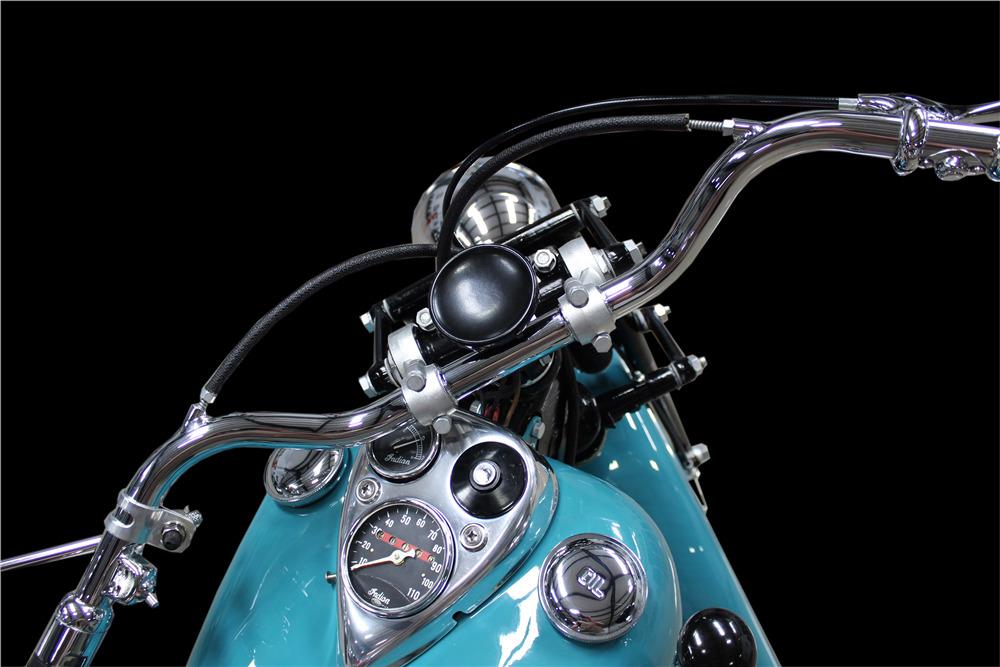 1947 INDIAN CHIEF MOTORCYCLE - Interior - 220183