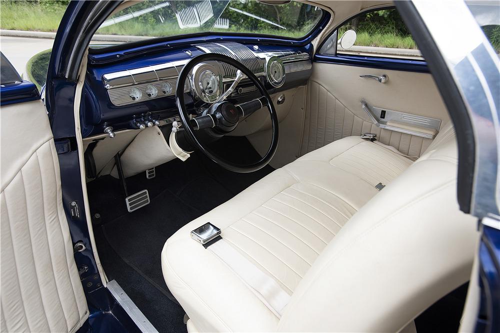 1940 MERCURY CUSTOM COUPE - Interior - 220373