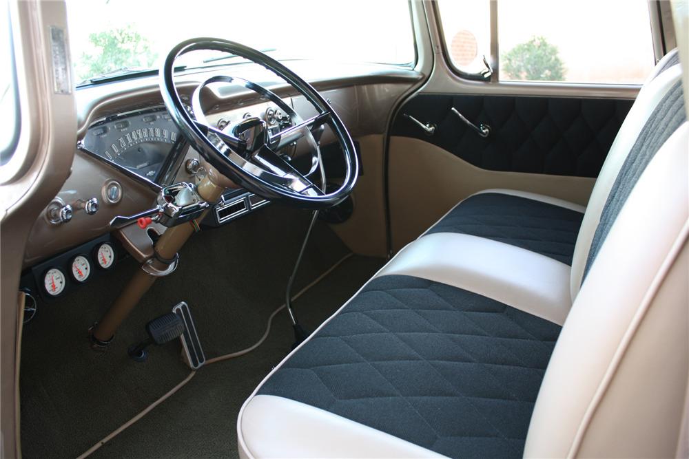 1955 CHEVROLET 3100 CUSTOM PICKUP - Interior - 220470