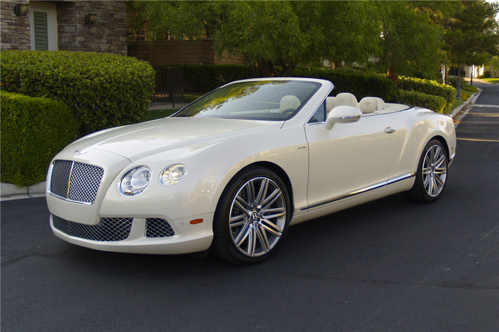 2014 BENTLEY CONTINENTAL GTC SPEED CONVERTIBLE - Front 3/4 - 222455