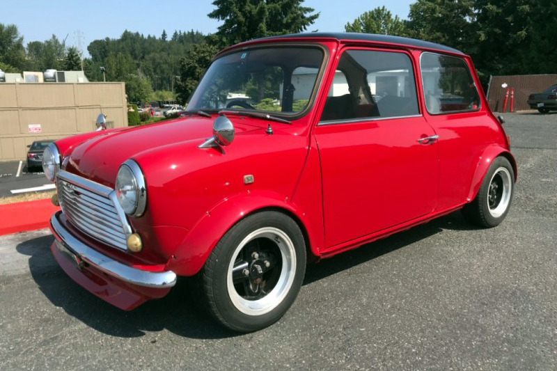 1990 ROVER MINI MAYFAIR - Front 3/4 - 222812