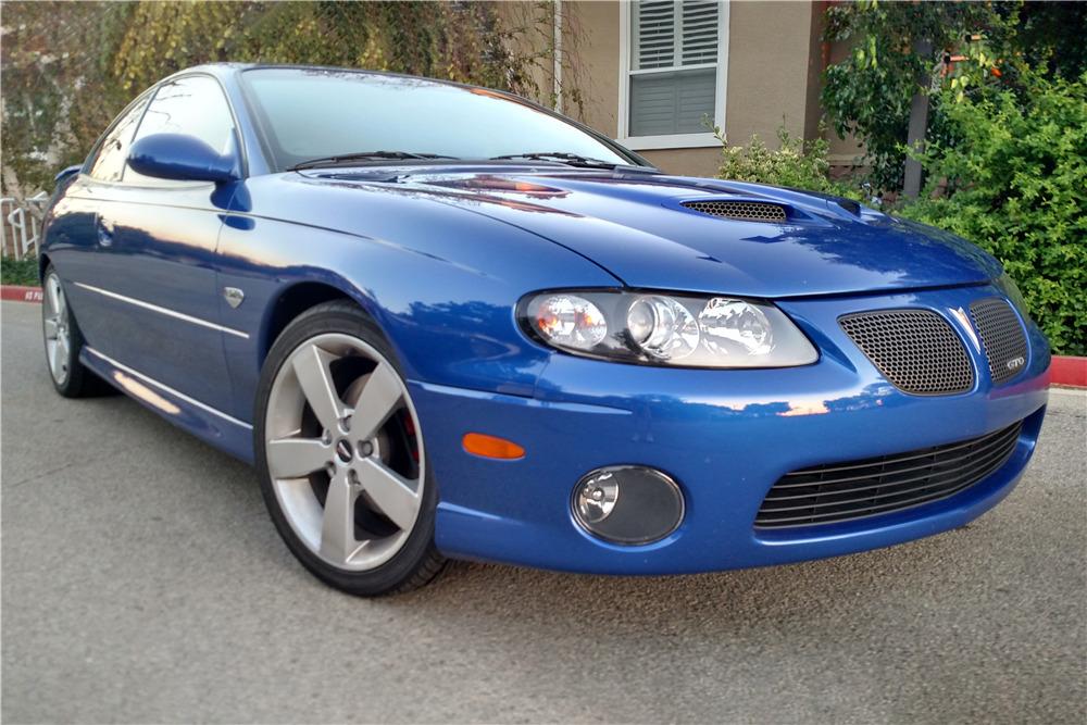 2006 PONTIAC GTO - Front 3/4 - 224252