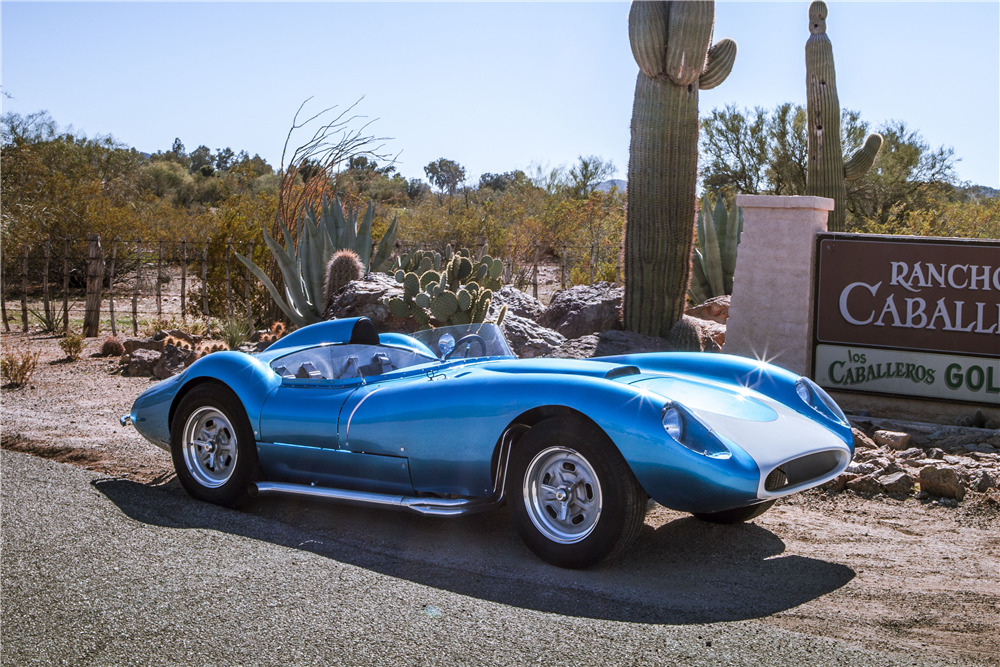 1958 SCARAB RE-CREATION ROADSTER - Front 3/4 - 224507