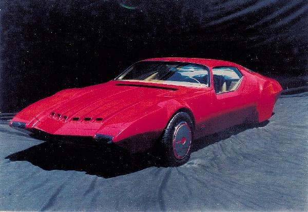 1970 PONTIAC FIREBIRD GM CONCEPT CAR - Front 3/4 - 22533