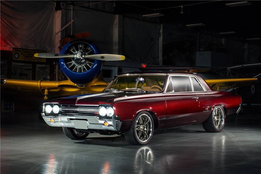 """1965 OLDSMOBILE 442 CUSTOM COUPE """"THE GETTER"""" - Front 3/4 - 225981"""