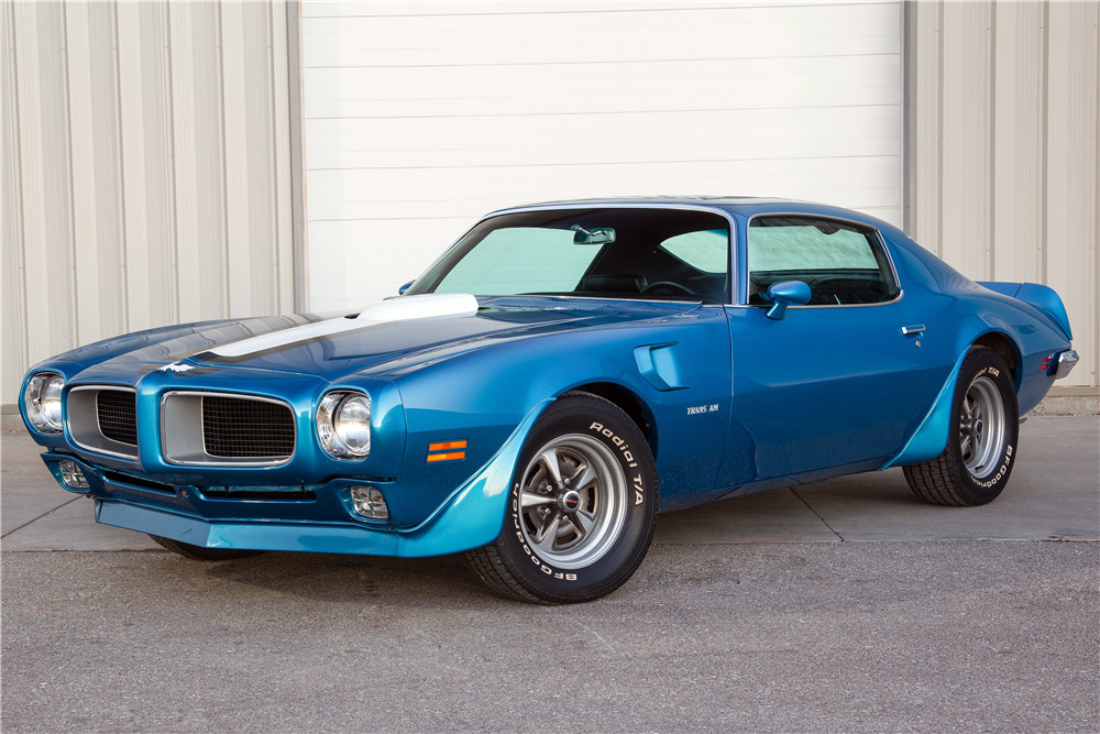 1970 PONTIAC TRANS AM RAM AIR III COUPE - Front 3/4 - 228103
