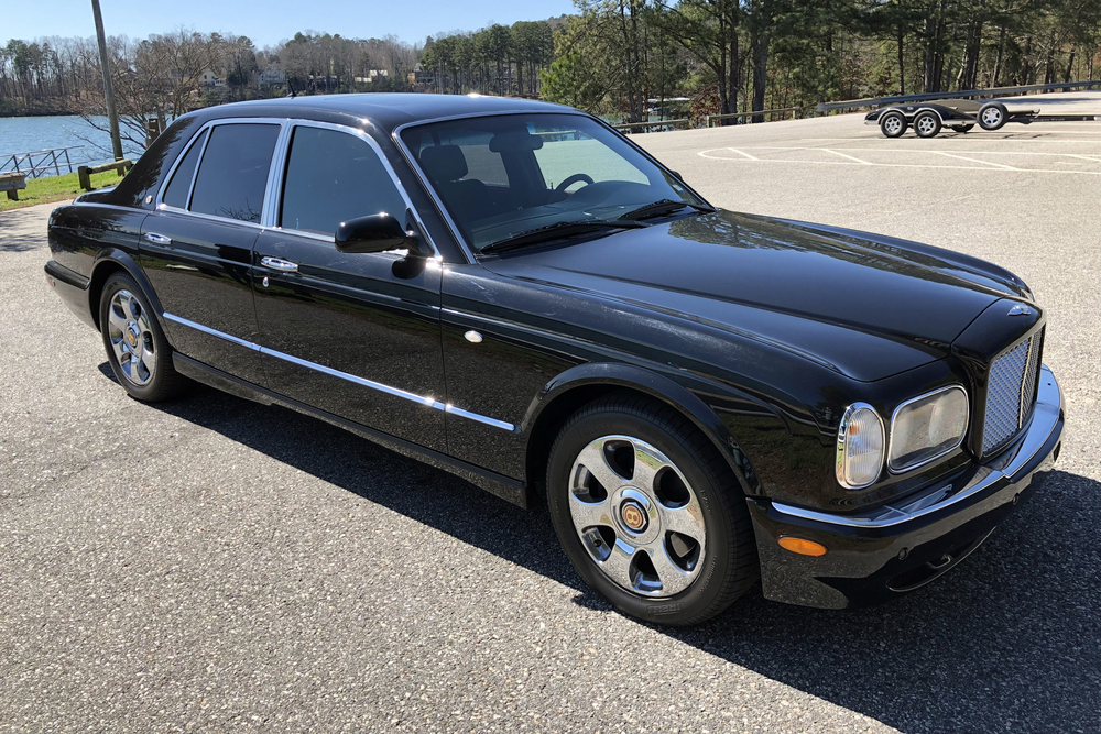 2003 BENTLEY ARNAGE RED LABEL TURBO - Front 3/4 - 230600