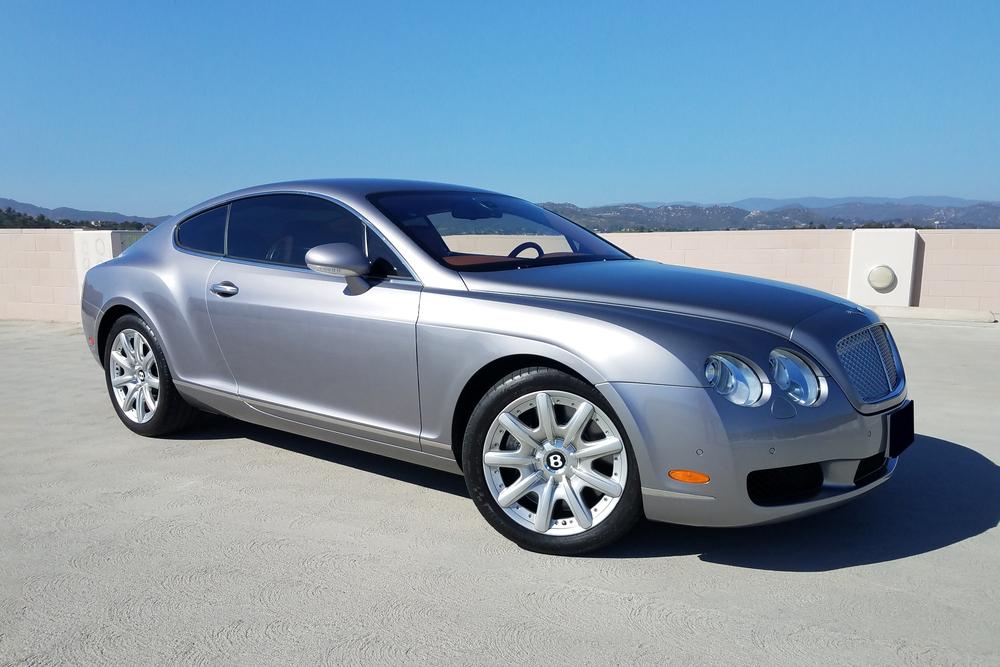 2005 BENTLEY CONTINENTAL GT - Front 3/4 - 233689